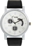 FNINE CASUAL WRIST WATCH WITH GENUINE LE...