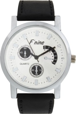 FNINE CASUAL WRIST WATCH WITH GENUINE LEATHER STRAPS Analog Watch  - For Men