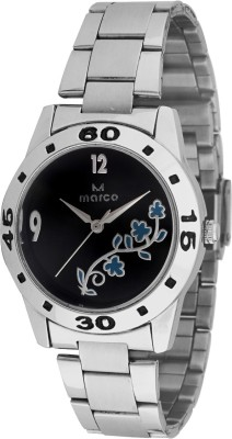 Marco MR-LR072-BLK-CH Marco Analog Watch  - For Women