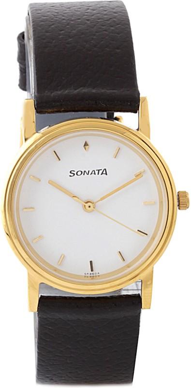 Sonata ND1141YL02 Classic Analog Watch For Men