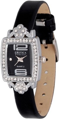 Exotica Fashions EFL-51-Black Ex Series Analog Watch  - For Women