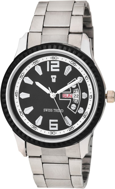 Swiss Trend ST2216 Elegant Day Date Analog Watch For Men