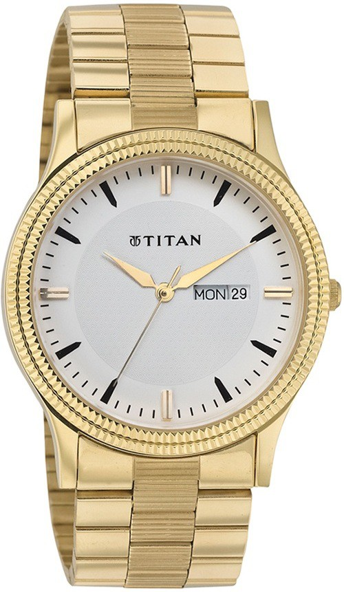Deals - Delhi - Titan, Sonata... <br> Gold Metal Strap Mens Watches<br> Category - watches<br> Business - Flipkart.com