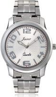 JAINX JM131 Trendy Sport Silver Dial Analog Watch For Men