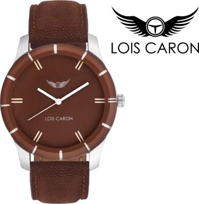 Lois Caron LCS-4101 Brown Dial Analog Watch  - For Boys, Men