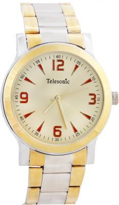 Telesonic DCS-06GOLD Shubham Series Analog Watch  - For Men