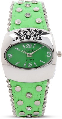 Optima OPT-9079L-GREEN Analog Watch  - For Women