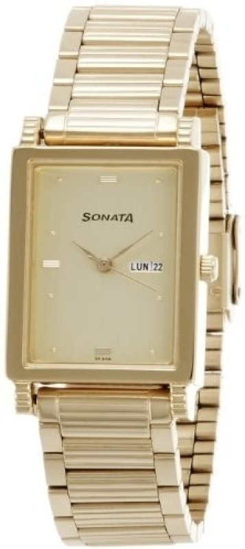 Sonata NF7058YM05 Analog Watch For Men