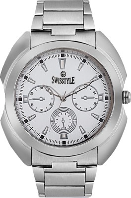 Swisstyle SS-GR8061-WHT Analog Watch  - For Men