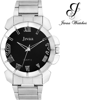 Jivaa JV-4432 Silver Corporate Analog Watch  - For Men, Boys