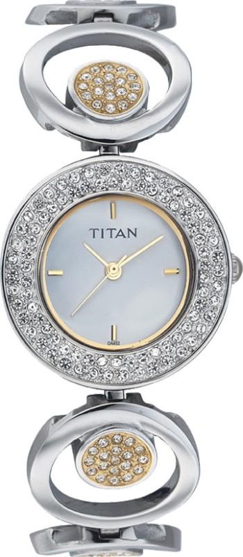 Titan NC9846BM01 Purple Analog Watch For Women
