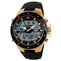 Skmei 1016 G Chronograph Analog Digital Watch For Men