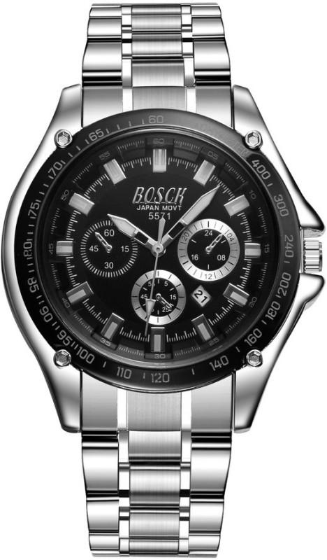 BOSCK W1229SB Date Calendar Series Analog Watch For Men
