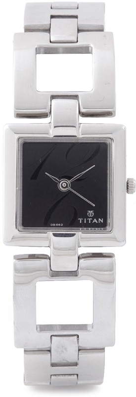 Titan NH2484SM03 Purple Analog Watch For Women