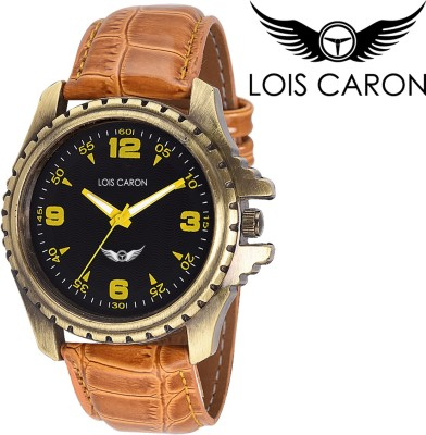 Lois Caron Lck-4039 Stylish Tan Analog Watch Analog Watch  - For Boys, Men