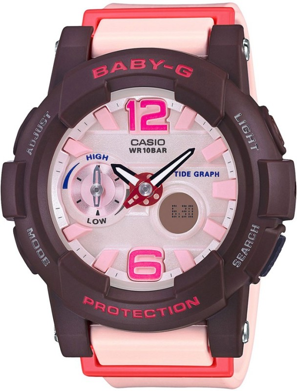 Casio BX044 Baby G Analog Digital Watch For Women