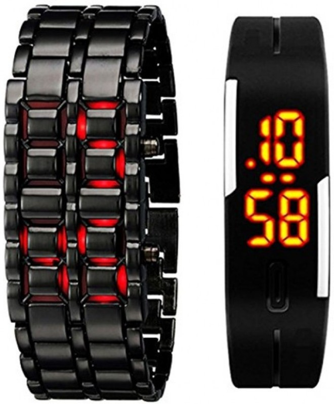 TRUE COLORS COMBO OF MAGNETIC AND SAMURAI Digital Watch For Me