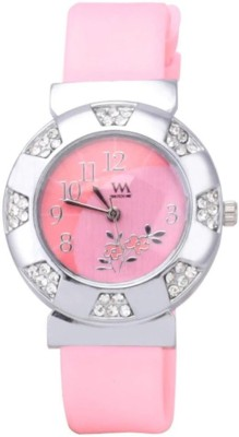WM WMAL-096-PKva Analog Watch  - For Women