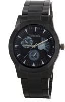 Telesonic GCBK07BLACK Platinum Time Analog Watch For Men