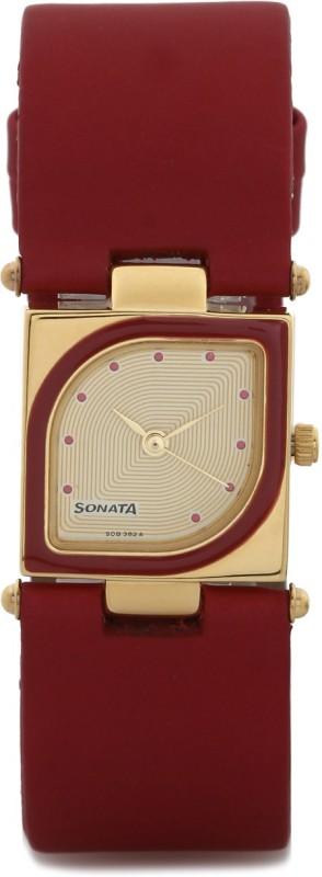 Sonata ND8919YL04AC Octane Analog Watch For Women