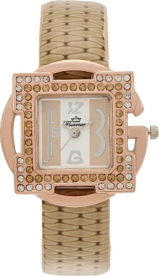 Florence FL-CRM-GLD-F-071 Analog Watch  - For Women