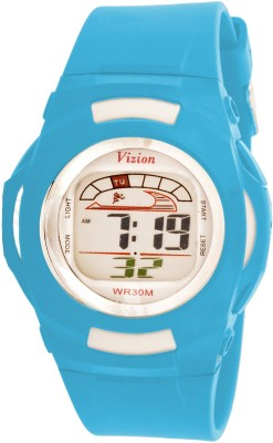 Vizion 8522-7BLUE Cold Light Digital Watch  - For Boys