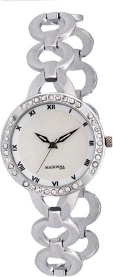 Madonna MDN-006-SS-WHT Analog Watch  - For Women