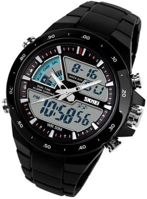 Skmei Men's Waterproof Analog + Digital Sports Watch Analog-Digital Watch  - For Men