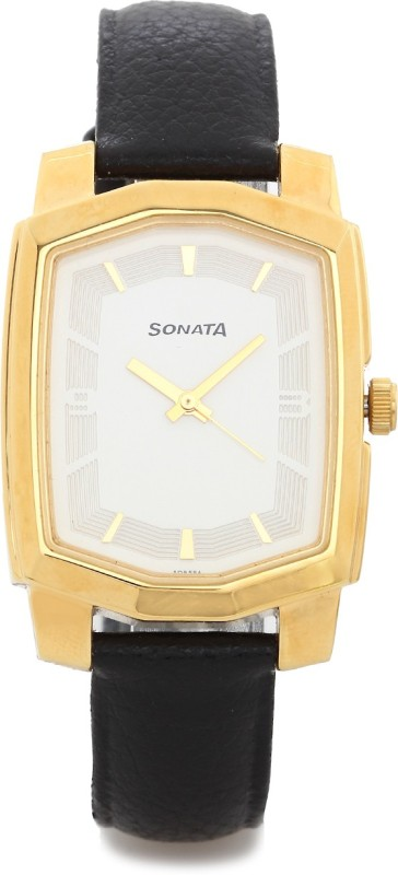 Sonata ND7094YL01 Analog Watch For Men