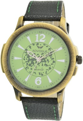 Advogue green dial Analog Watch  - For Men, Boys