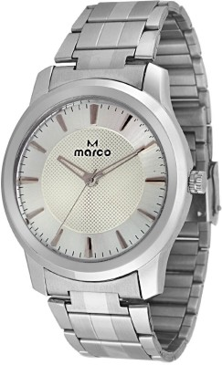 Marco MR-GR104-WHT-CH Heavy Analog Watch  - For Men, Boys