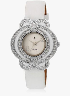 Dvine VD 1036 WT Analog Watch  - For Women