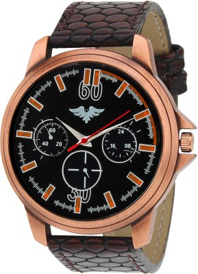 Picaaso Brown-65 Analog Watch  - For Men