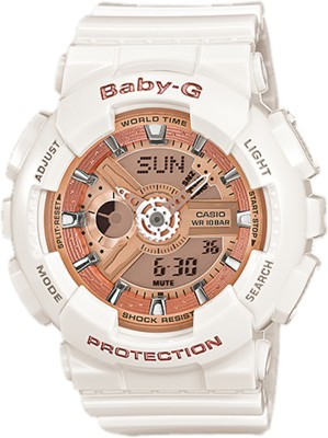 Casio BX016 Baby-G Analog-Digital Watch - For Women
