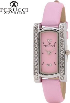Perucci Pc- 807 Pink Analog Watch  - For Women, Girls