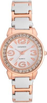 Casado 953 White wrist Analog Watch  - For Women, Girls