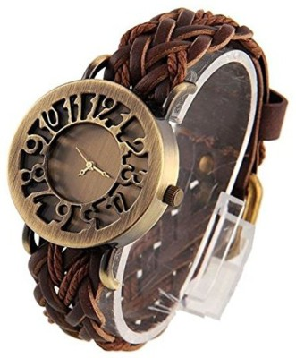 European Fashion girls always right dial Analog Watch  - For Women