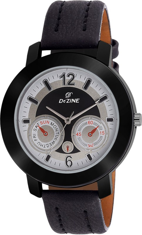 Dezine CHRONO GR415 Black Elite Collection Analog Watch For Me