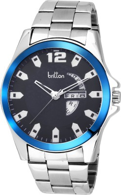 Britton Day and date display-BR-GR1181-BLU-CH Analog Watch  - For Boys