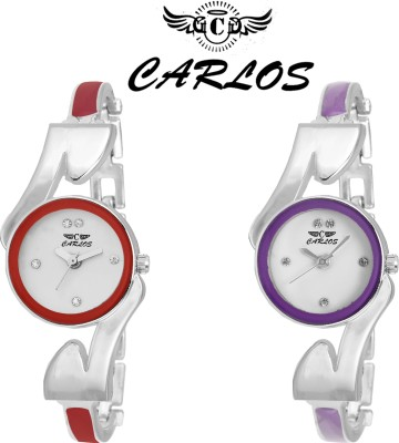 CARLOS TC-COMBOPACK-6081 Analog Watch  - For Girls