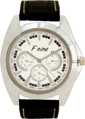 FNINE STYLISH HAND WATCH WITH GENUINE LEATHER STRAPS Analog Watch  - For Men