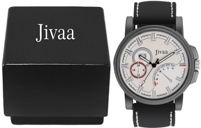Jivaa Leather Brazen Tier Analog Watch  - For Men, Boys