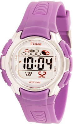 Vizion 8520-7PURPLE Cold Light Digital Watch  - For Boys, Girls