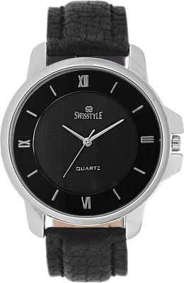 Swisstyle SS-GR8056-BLK Analog Watch  - For Men