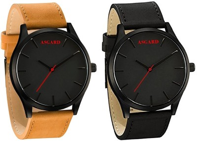 Asgard Combo Combo Analog Watch  - For Men