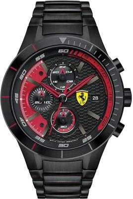 Scuderia Ferrari 0830264 Red Rev Evo Analog Watch  - For Men