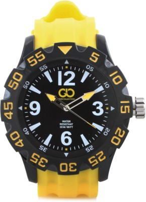Gio Collection SU-1557-BKYW Analog Watch  - For Men