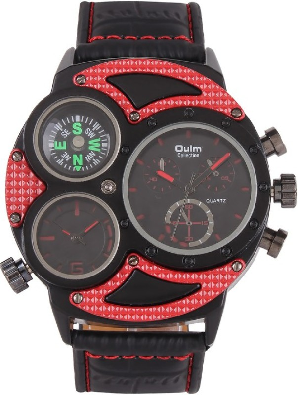 Oulm HP3594 1RE Analog Digital Watch For Men