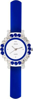 Atkin AT-102 PU Analog Watch  - For Girls, Women