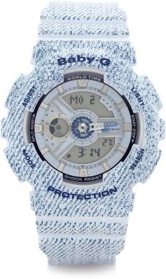 Casio BX050 Baby-G Analog-Digital Watch - For Women